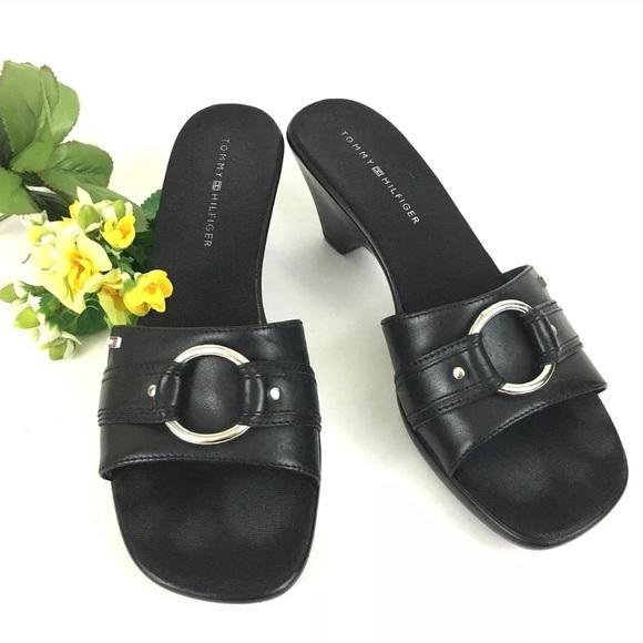 a9f805e59 Tommy Hilfiger Shoes - 🌞Tommy Hilfiger Maria Slip On Sandals